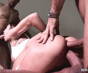 Triple Penetration animated GIF