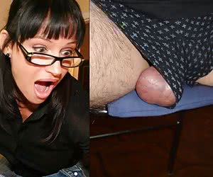 Expression Of The Balls Or Cock