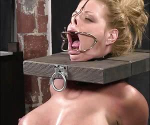 Category: gagged torture