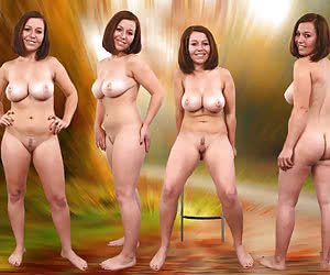Fours beach all nude on
