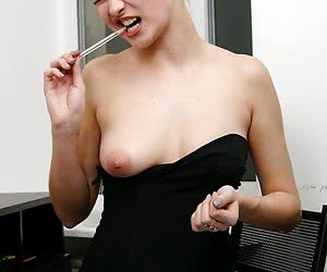 Letting A Titty Out