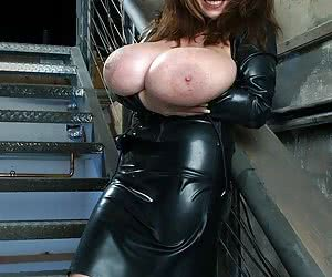 Plumpers In Rubber
